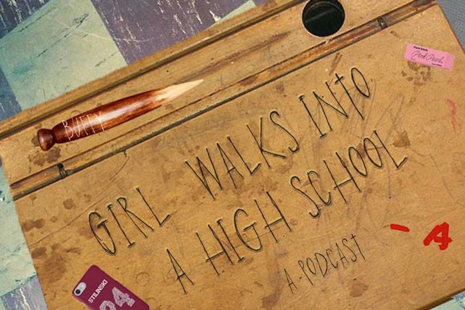 Girl Walks Into a High School