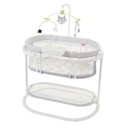Smart Co-Sleepers and Smart Bassinets: Cribs and Cradles that rock your baby to sleep, do they really work? Fisher Price Soothing Motion Smart Bassinet