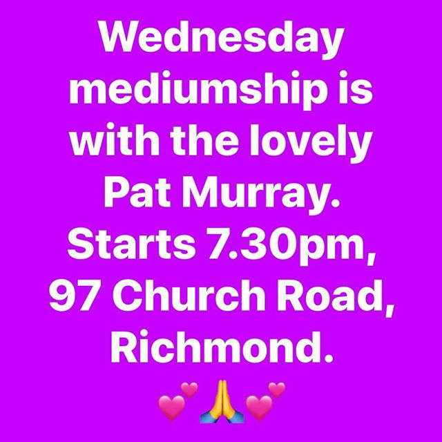 #psychicmedium #psychicreadings #rsc #richmondspiritualistchurch 💕💕💕