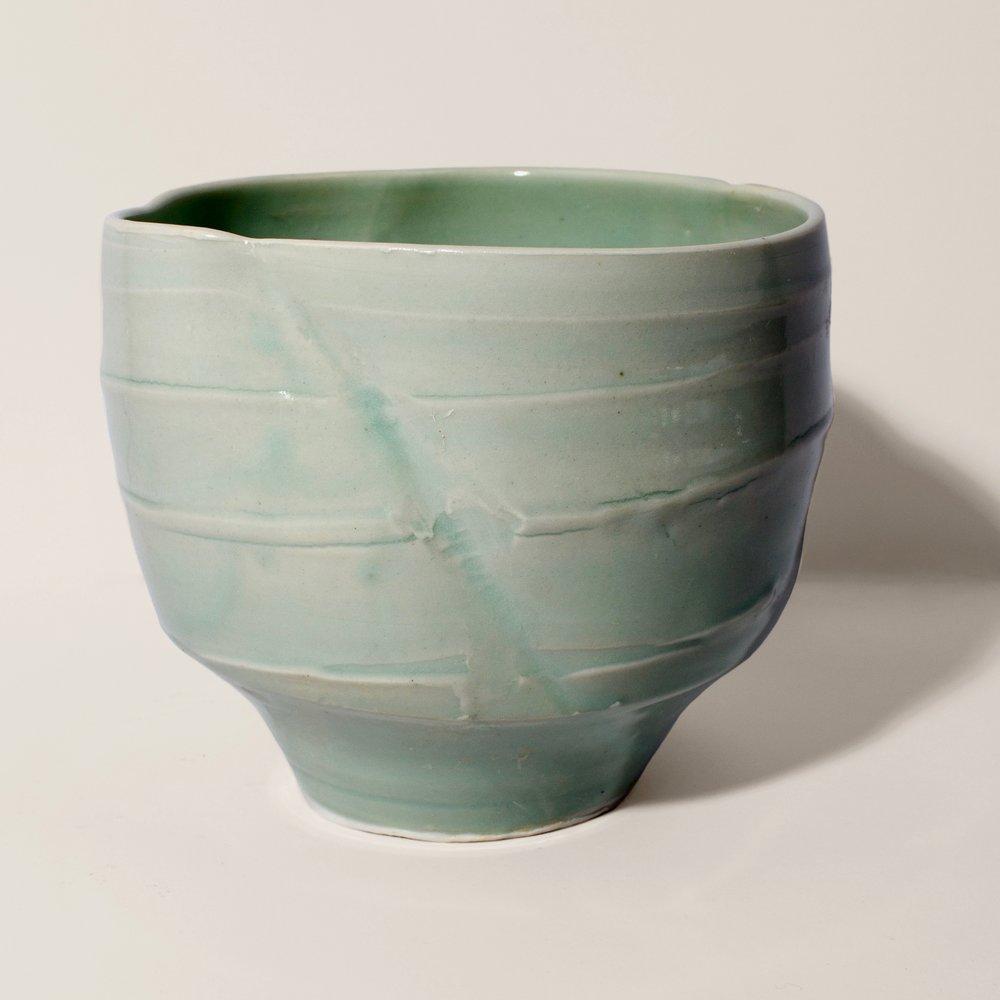 GreenBowl#JenniferGordon#2017#Ceramic#13cmx15c.jpg