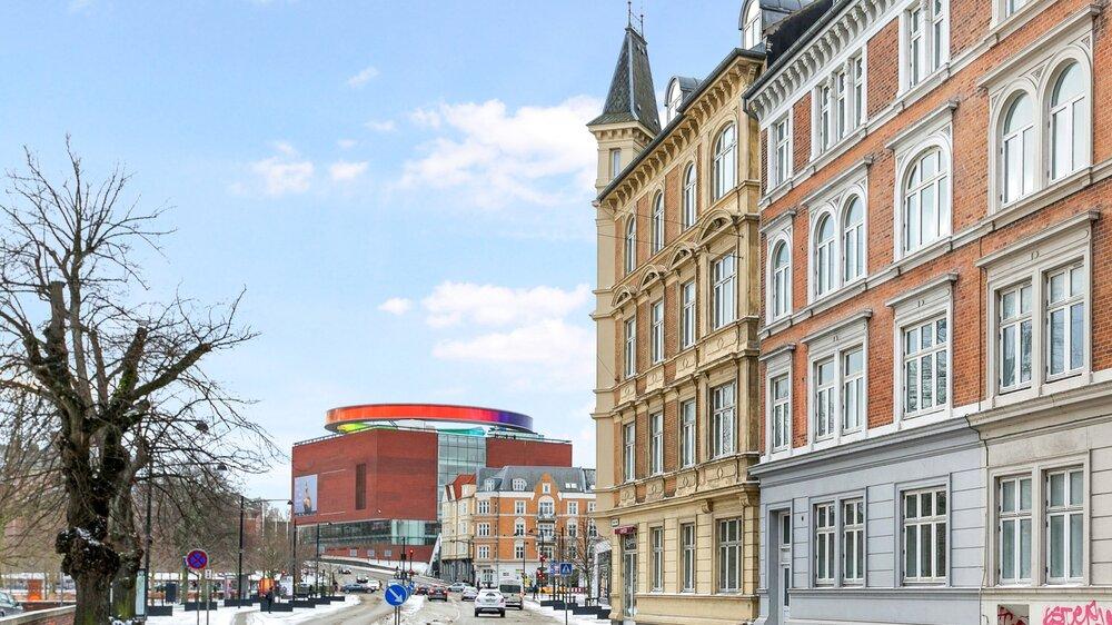 Vester Allé 21, 8000 Aarhus C  5 lejeboliger fordelt på 450 m2