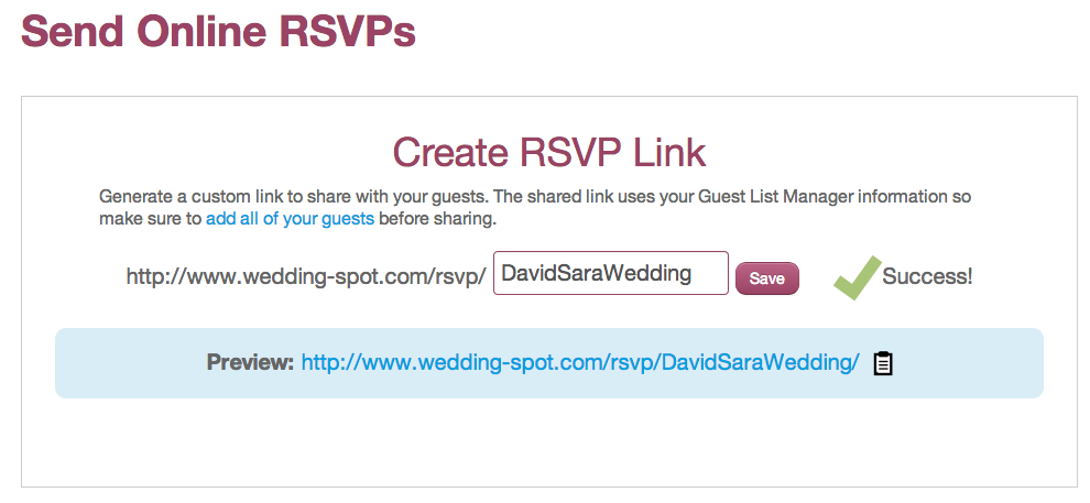 manage your guest list without the headache wedding spot blog