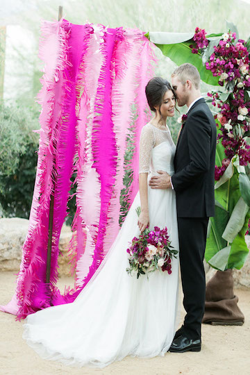Different Types Of Fabric Ribbon Crepe Paper And Even Yarn Will Also Create A Unique Look Without Adding To Your Weddings Budget