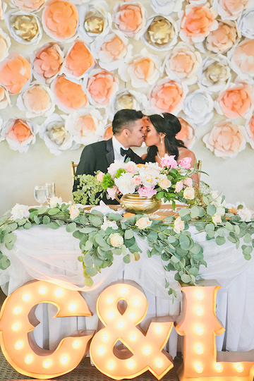 4 ways to save big on your wedding decor wedding spot blog if you have a few hours to spare and maybe some helping hands you can try folding paper cranes and stringing them together to create an impressive junglespirit Gallery