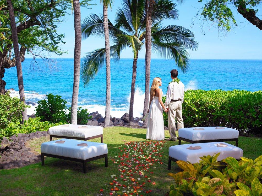 Hawaii Destination Wedding Sheraton Kona