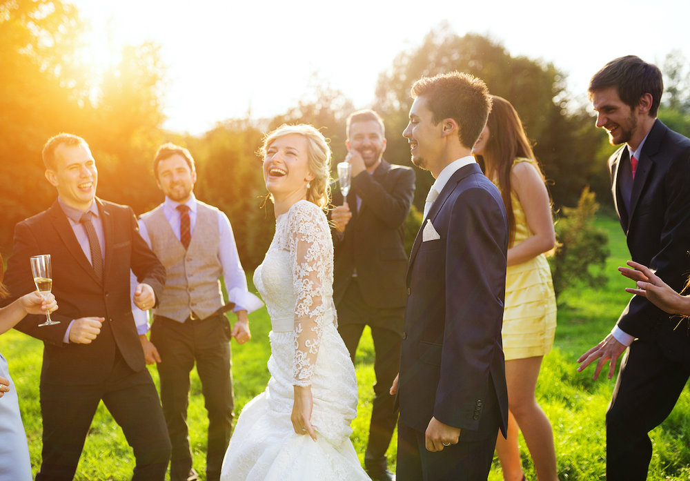 Should I Have A Band Or Dj For My Wedding Reception Wedding Spot Blog