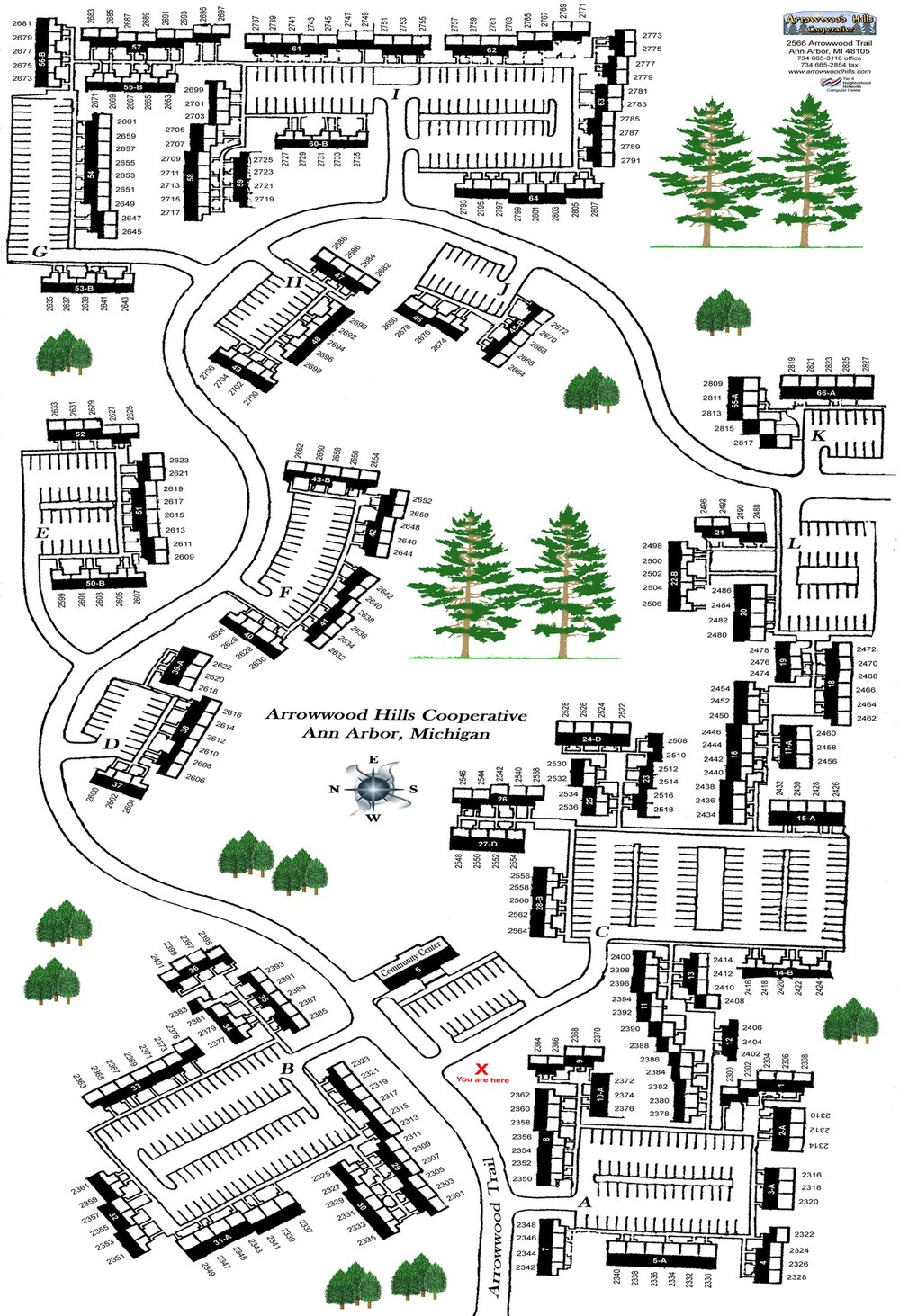Arrowwood Site Plan