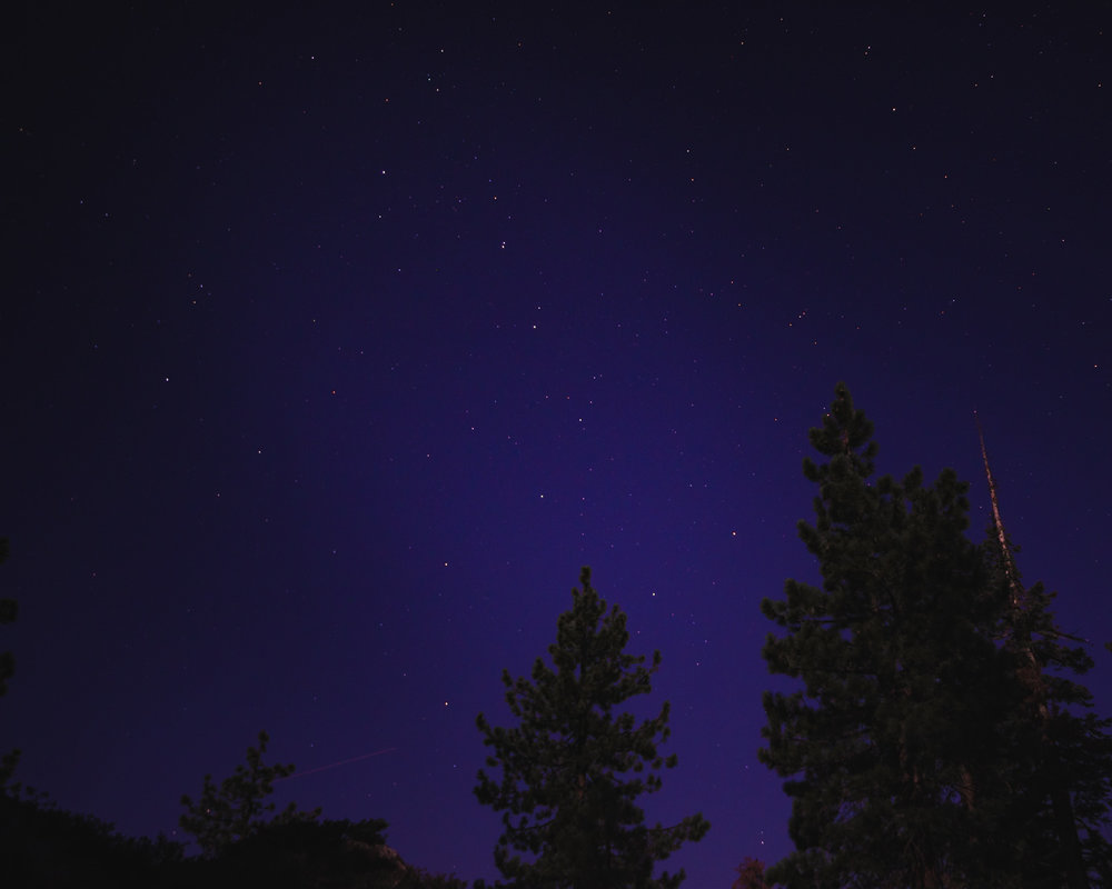 Big Dipper above our camp site