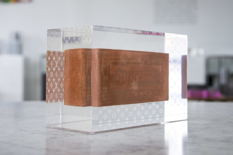 FROZEN IN TIME SUPREME BRICK LOUIS VUITTON BY DETROITWICK