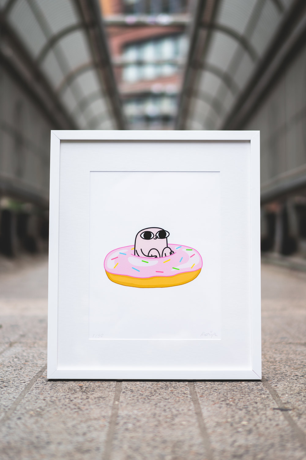 """Donut"" by Ketnipz. Published by Monsieur Marcel. Photo by Shot Alive."