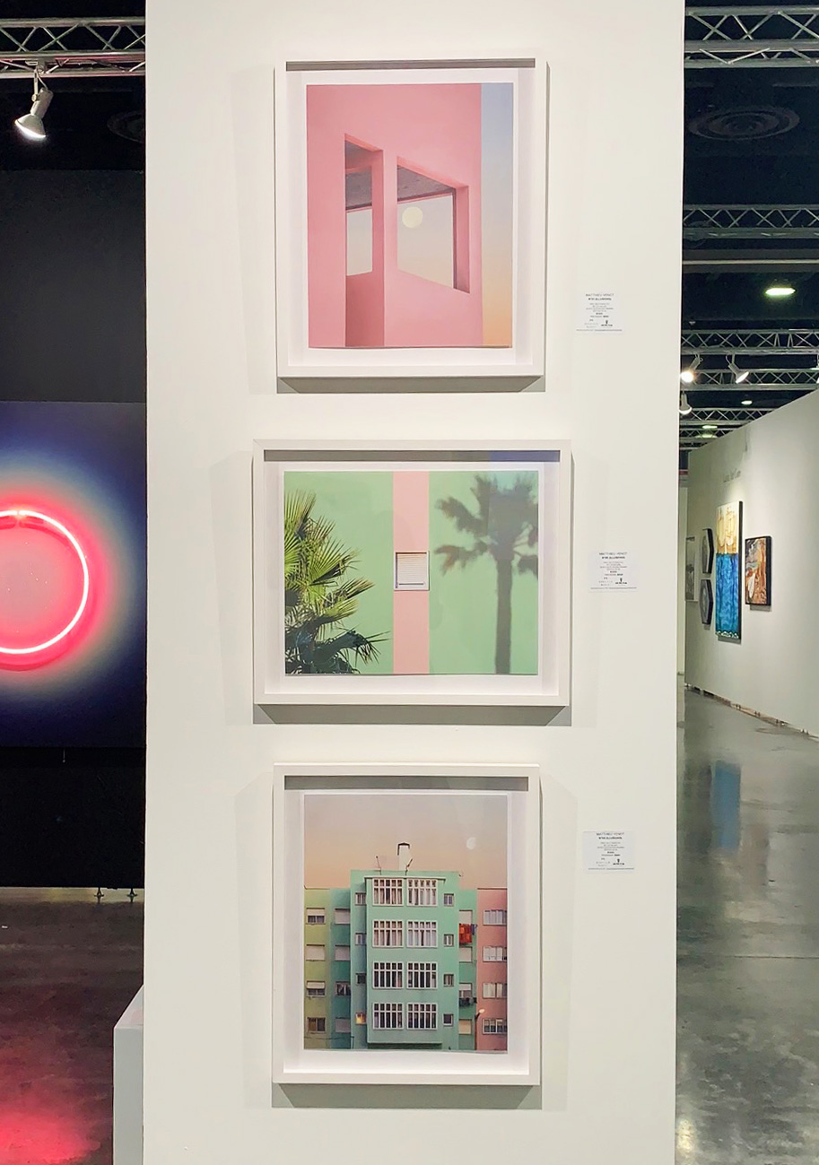 N°01, N°05, N°04 exhibited at Art Palm Beach 2019