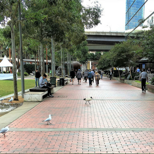 Darling Harbour Interface Project -