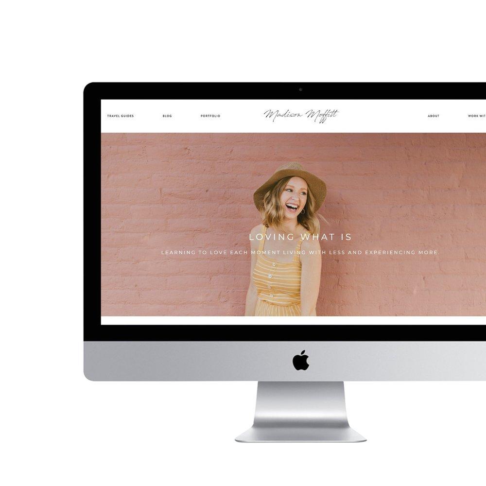 Madison Moffitt    Brand Identity Design, Website Design, Brand Photography