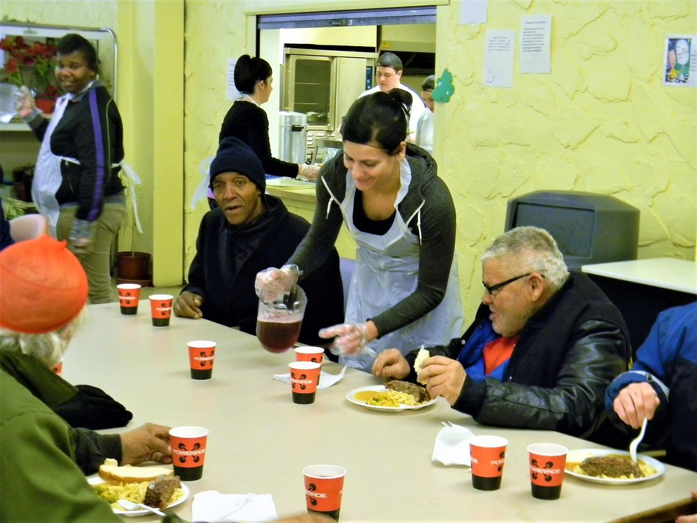 Community Meal     Tuesdays from 6pm - 7pm