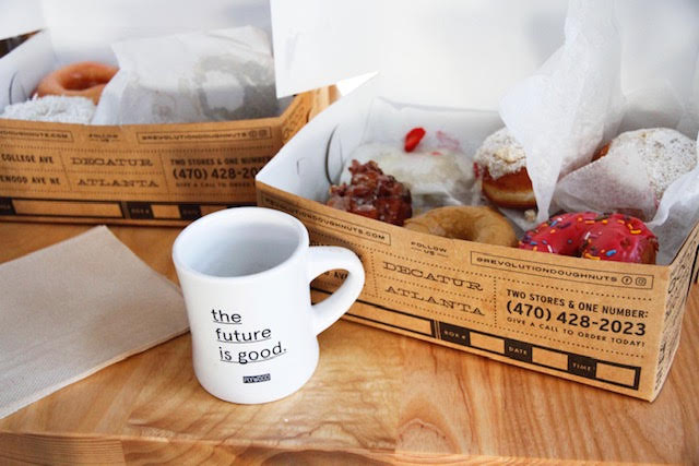 Donuts + ideas - A gathering of like-minded problem solvers exploring the journey of business ownership
