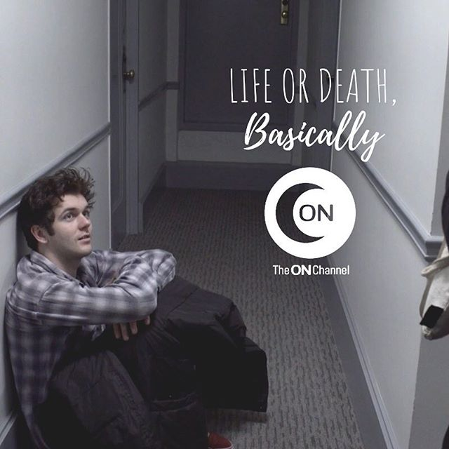 waiting patiently for you to fall in love with us. . now streaming on @vimeo, @theonchannel, and our website. 💕💫 . #lifeordeathbasically