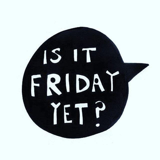 Yesss it is!!! Yay 🎉🎉🎉 Happy Friday 💕💕💕 #yayfriday #lettheweekendbegin