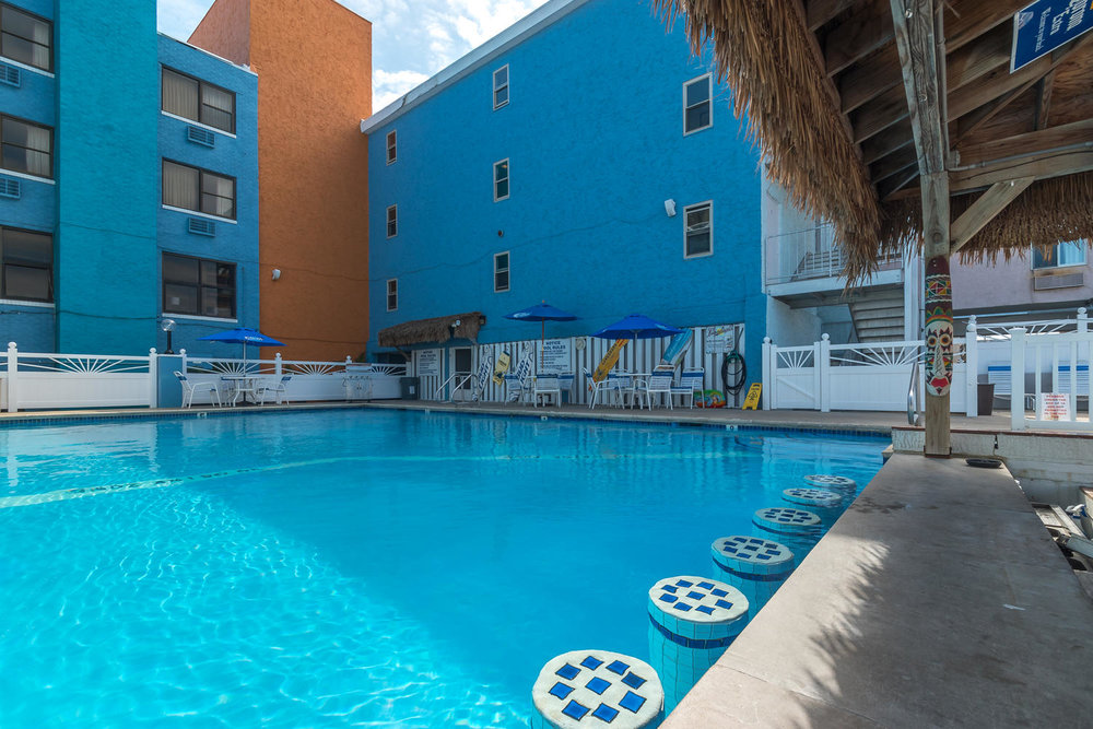 Oceanic hotel pool wildwood nj