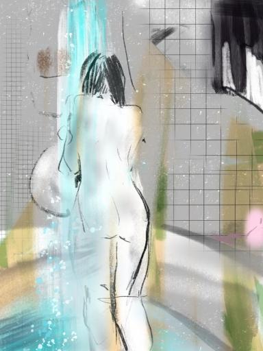 I love the post-Halloween shower