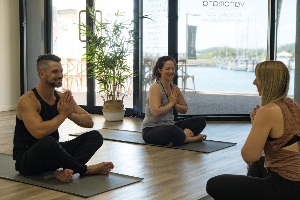 Yoga Session for Vartamana Yoga & Spa