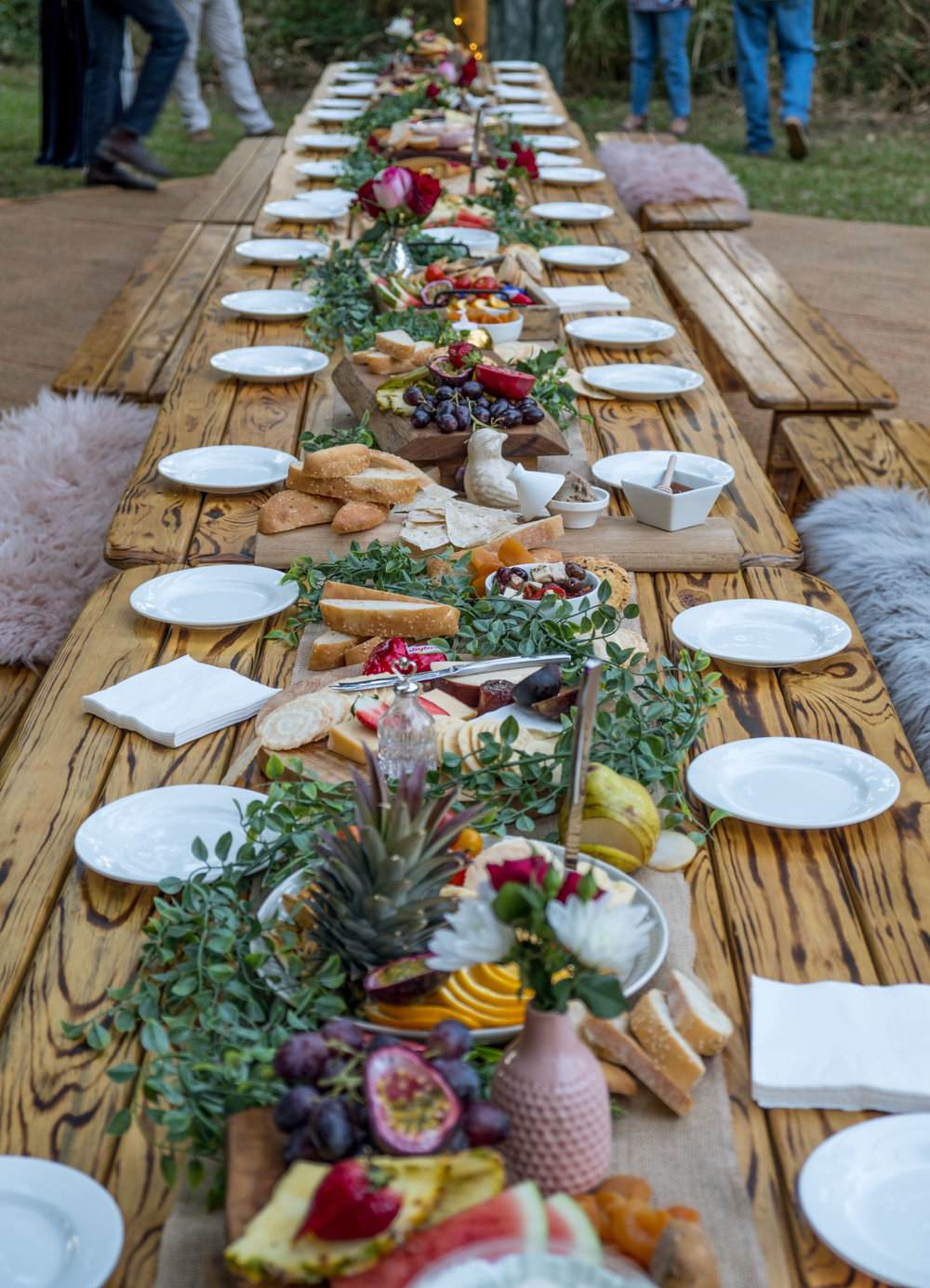 "Product Photography for ""Naked Grazing"" Hosted by Teepee Events Whitsundays & Peach and Pear Catering."