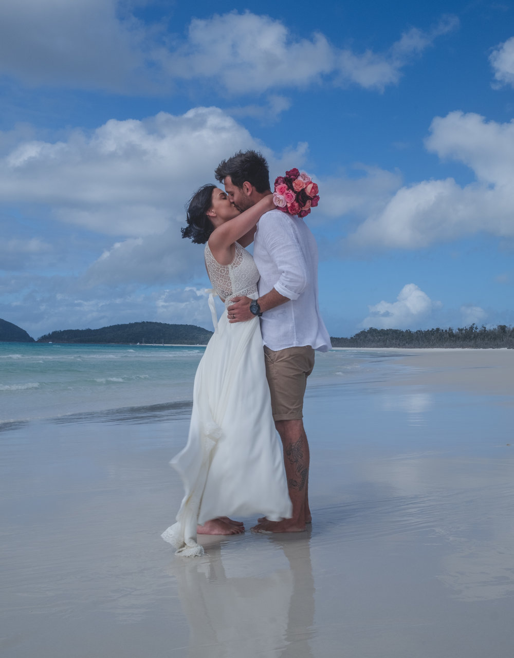 Reino & Lisa, Whitehaven Beach 23.6.18