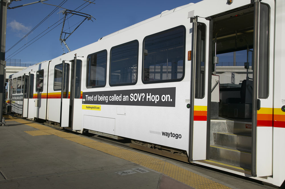 Light rail exterior