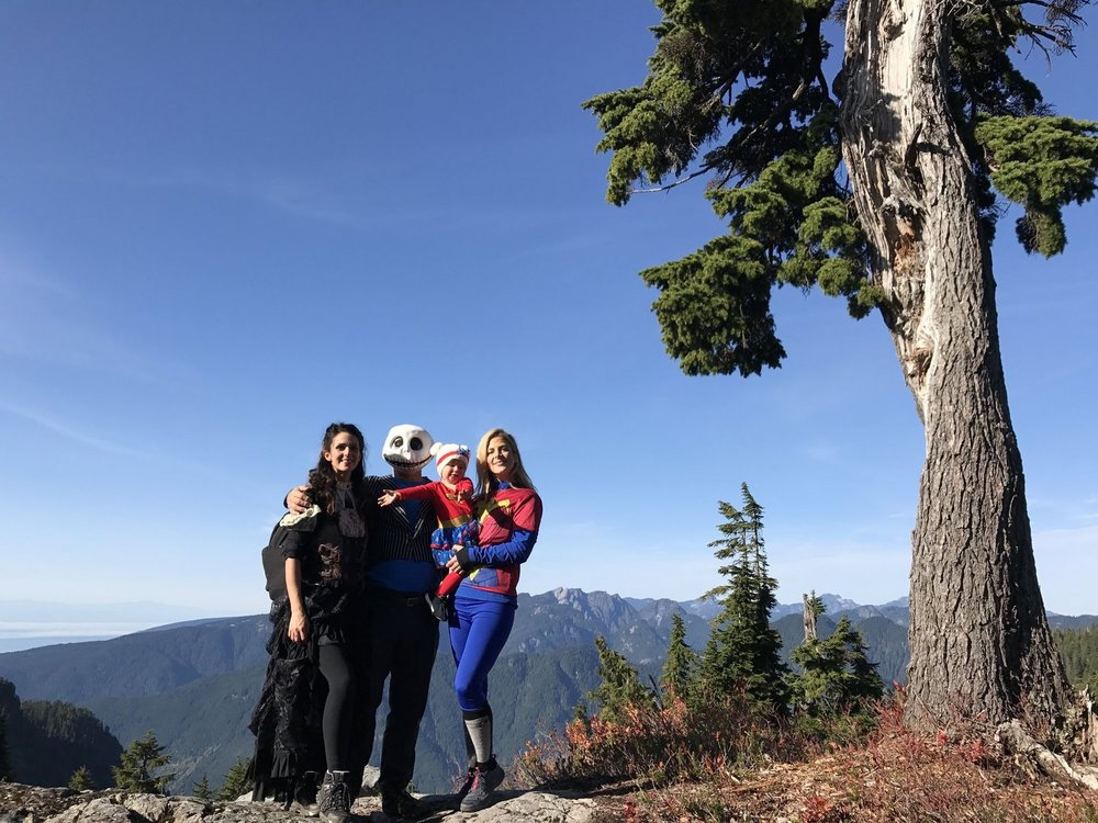 Halloween Family Hike:a new tradition -