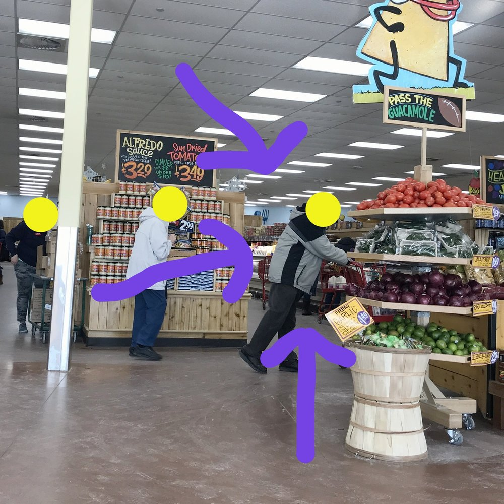 shot of the interior of Trader Joe's grocery store.