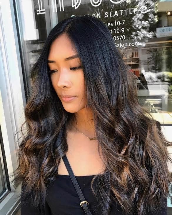 Balayage Bleach And Tone Ombre Vivid Color Haircut Seattle