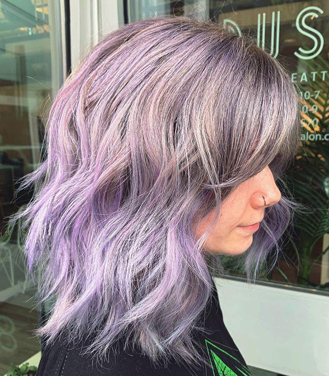 Pastel fairy princess status 💜💜💜 Gorgeous lavender done by lead stylist, Danielle! @agooddaytodye ⠀⠀⠀⠀⠀⠀⠀⠀⠀ .⠀⠀⠀⠀⠀⠀⠀⠀⠀ .⠀⠀⠀⠀⠀⠀⠀⠀⠀ .⠀⠀⠀⠀⠀⠀⠀⠀⠀ .⠀⠀⠀⠀⠀⠀⠀⠀⠀ .⠀⠀⠀⠀⠀⠀⠀⠀⠀ #industrysalonseattle #seattle #seattlehair #seattlehairsalon #seattlehairstylist #hair #hairporn #hairgoals #behindthechair #modernsalon #hotonbeauty #btcpics #americansalon #pulpriot #pulpriothair #pulpriotisthepaint #riotsquad #mermaidhair #vividhair #brighthair #lavenderhair