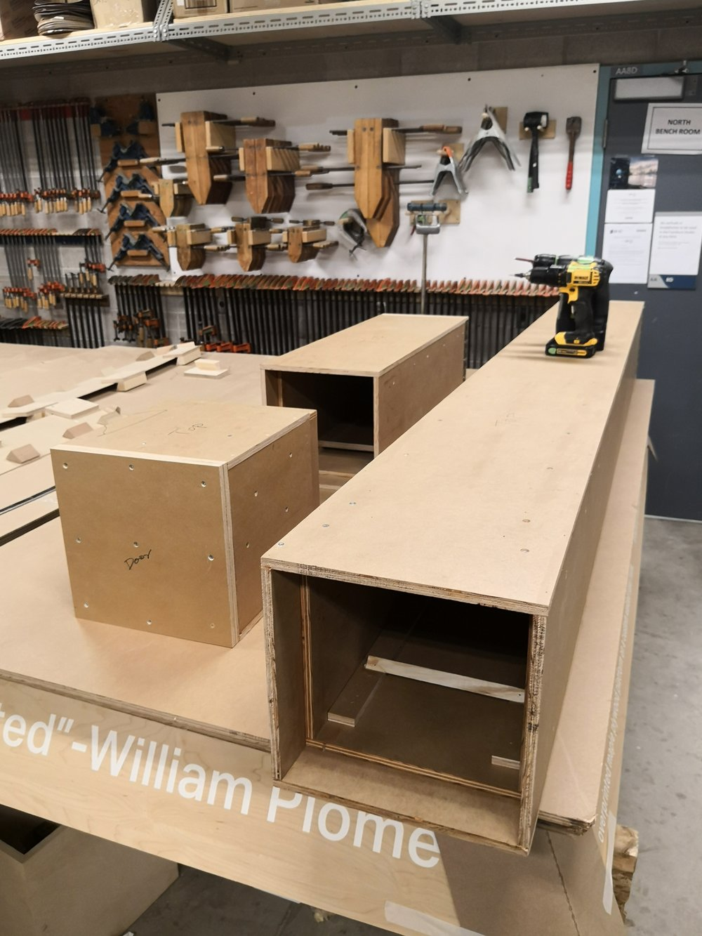Fabrication steam box