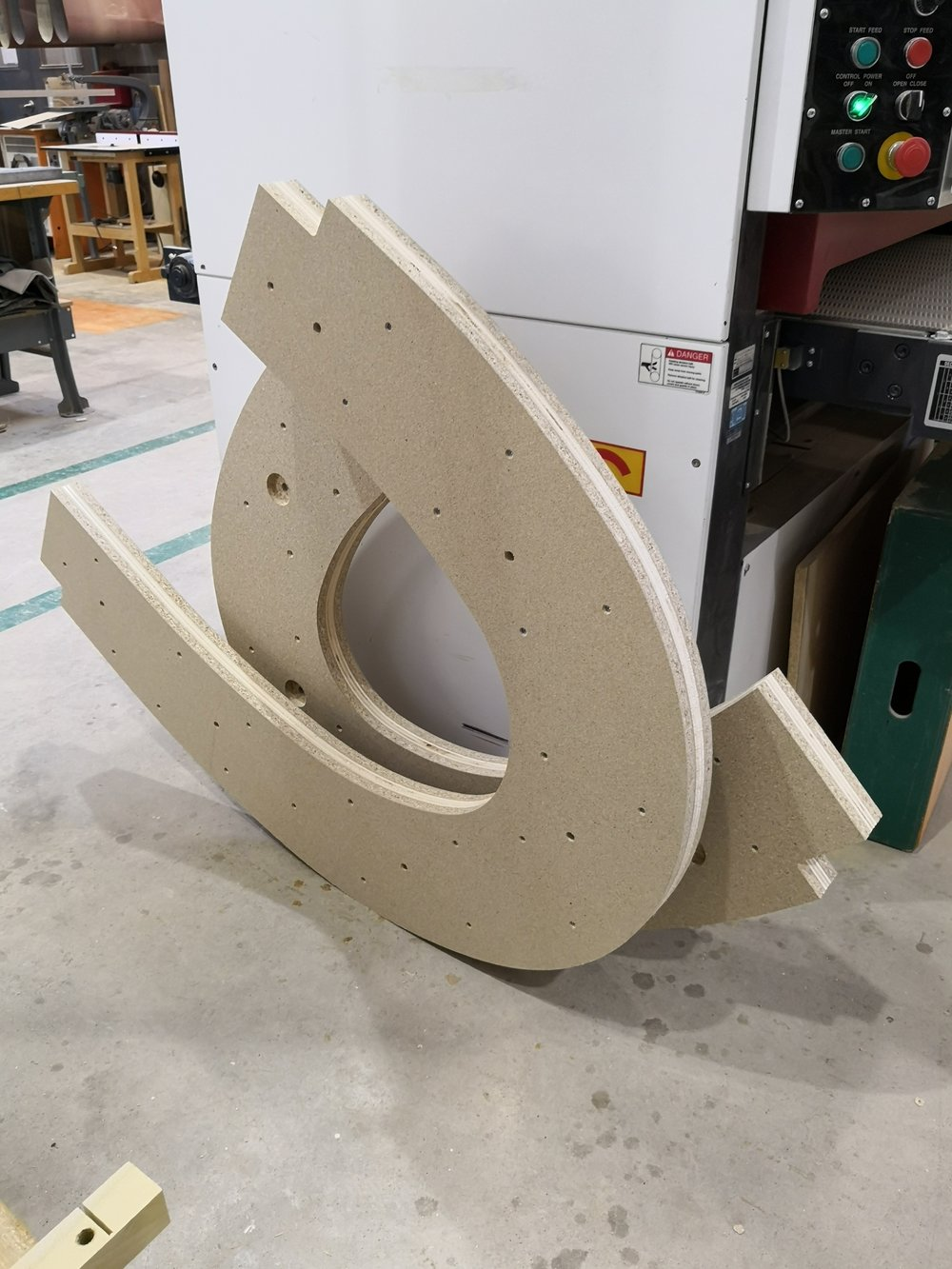 Laminated bending forms