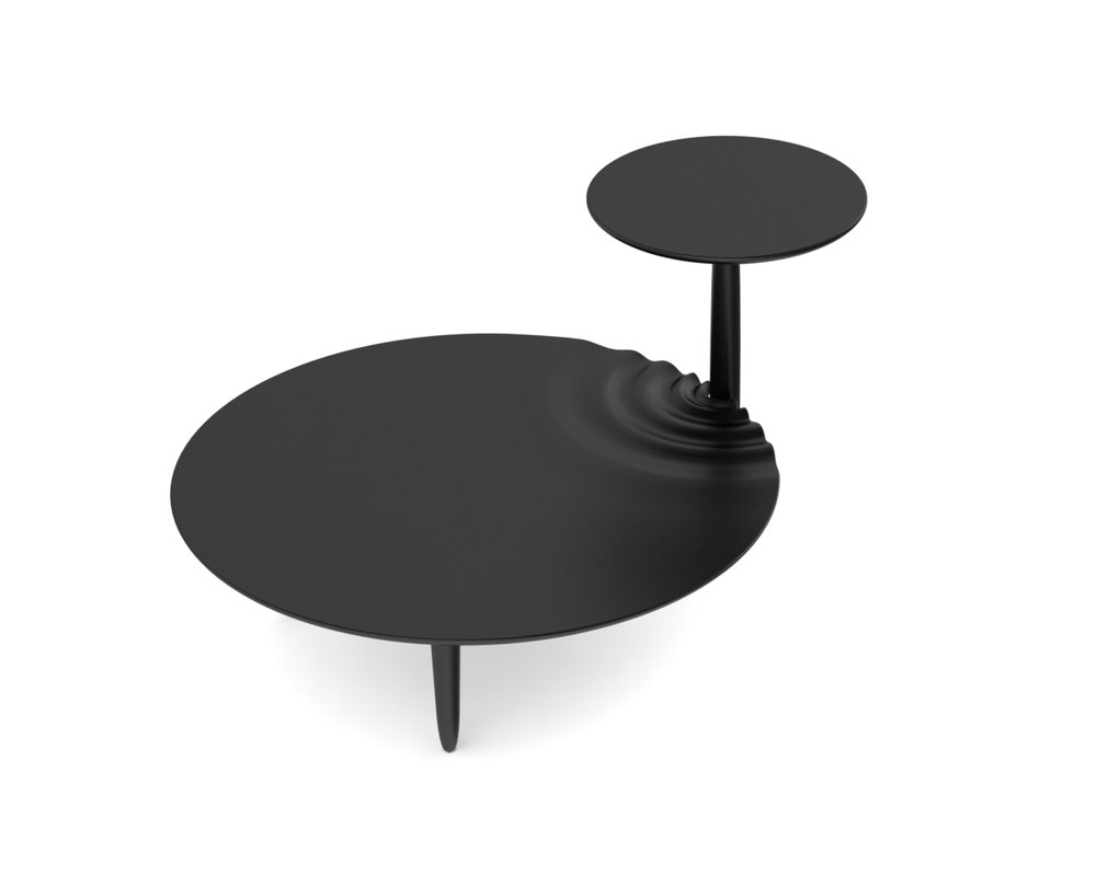 Rendered image for side table