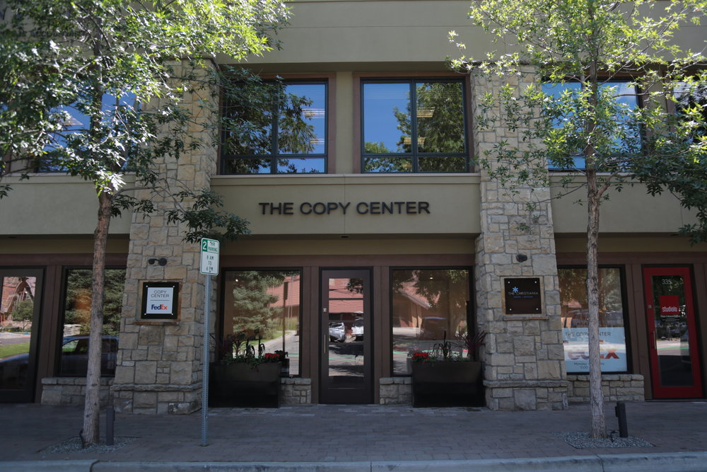 The Copy Center Store Front