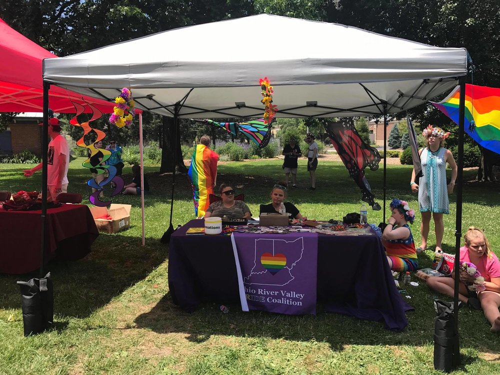 ORVPC Booth at Northern Kentucky's First Pride