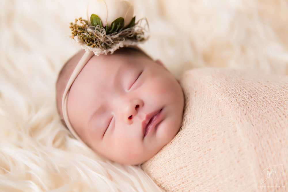 Inland empire newborn photography baby charlotte