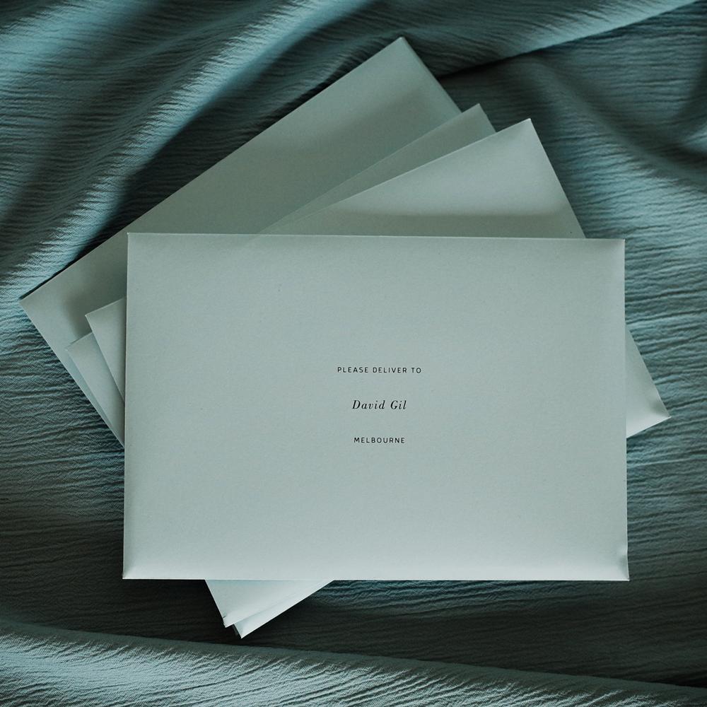 Tropica Weddings - Envelopes