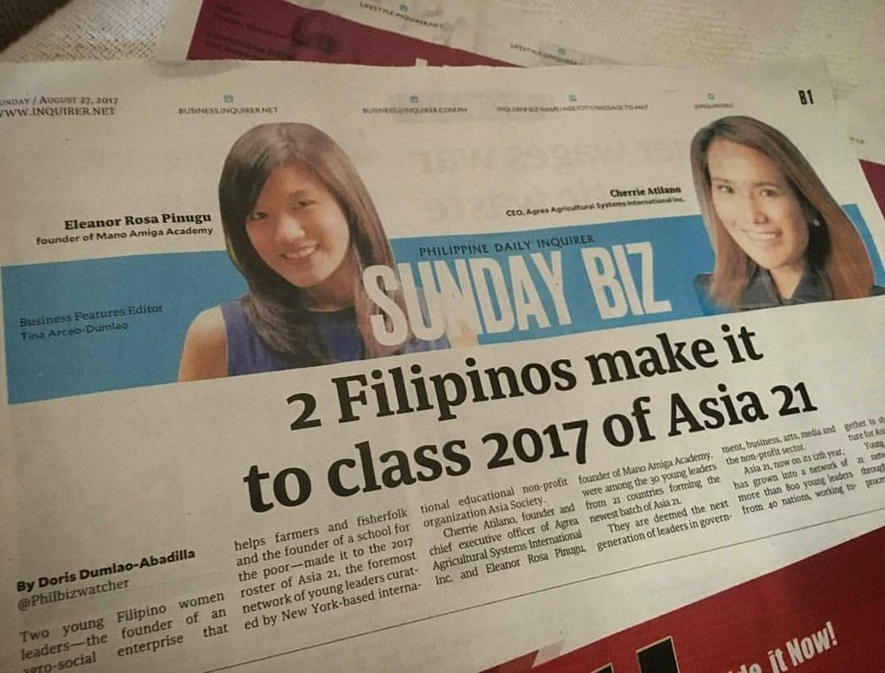 Philippine Daily Inquirer, 2017