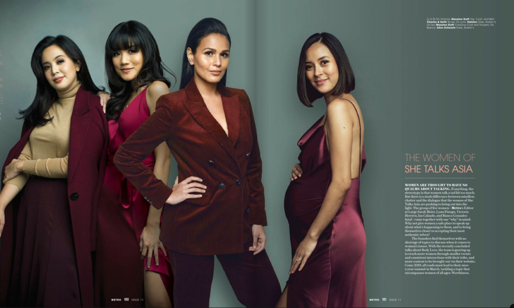 Metro Magazine, 2018 Women of Now