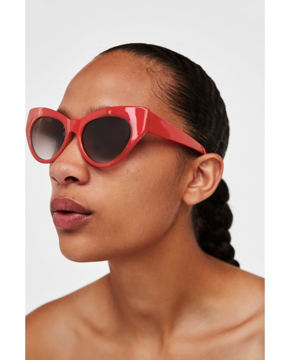 Snazzy sunnies help keep fine lines at bay. - Zara, £15.99
