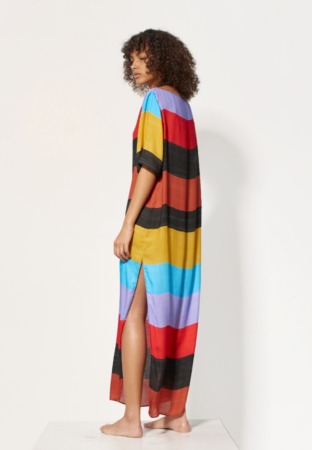 Colour block to keep cool in the sun.  - Mara Hoffman, $137.50