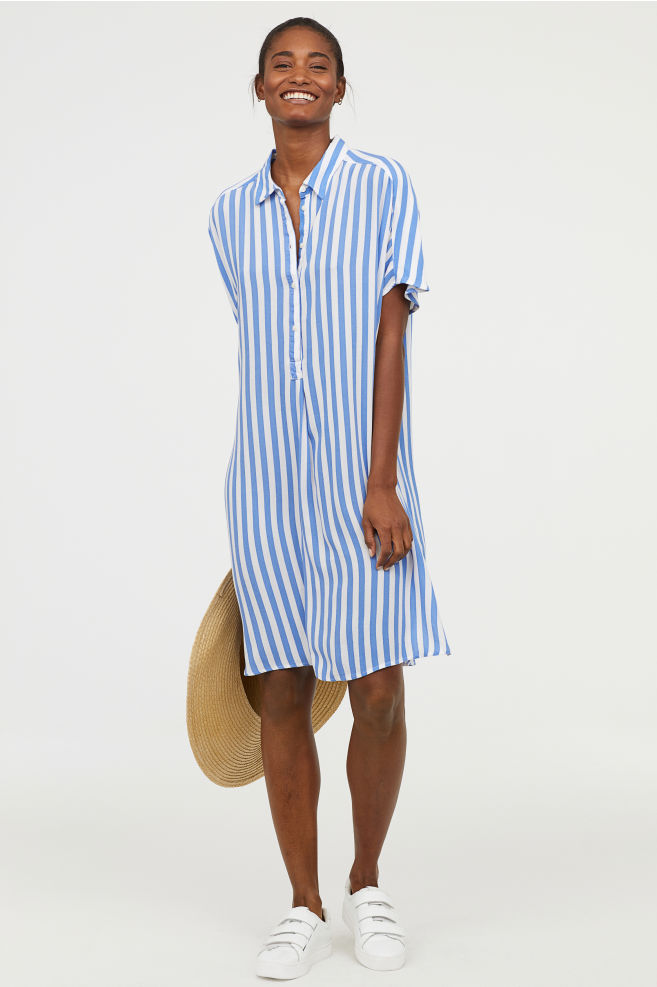 Shirt dresses make great cover ups. - H&M, £19.99