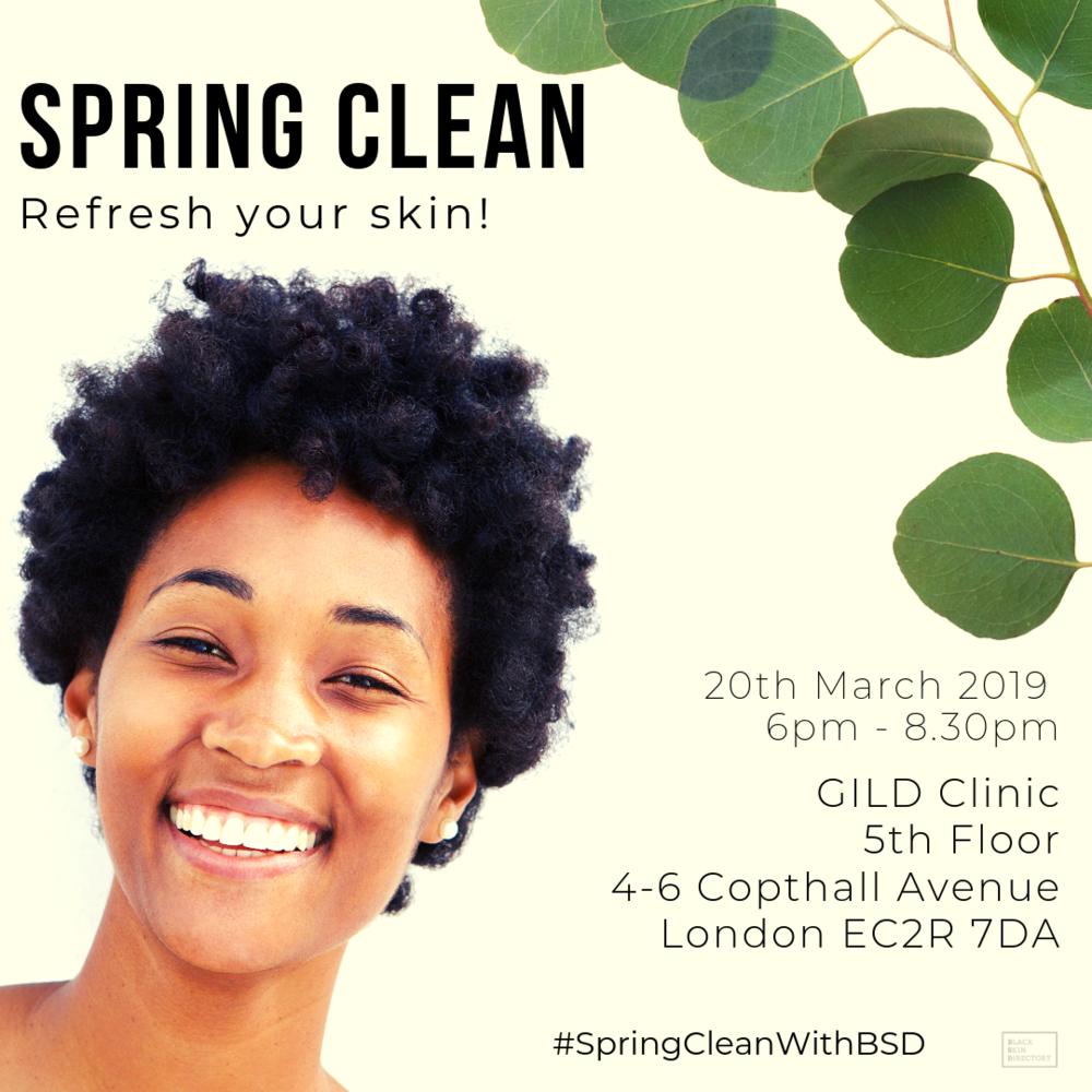 SPRING CLEAN - Wednesday 20th March6pm - 8.30pmGILD Clinic, LondonSeasonal shifts signal a change for your skincare wardrobe and with Spring on the horizon join us as we walk you through a successful skincare transition. Our skin speed dating evening is all about helping you to peel back the layers and declutter your skin care cabinet!