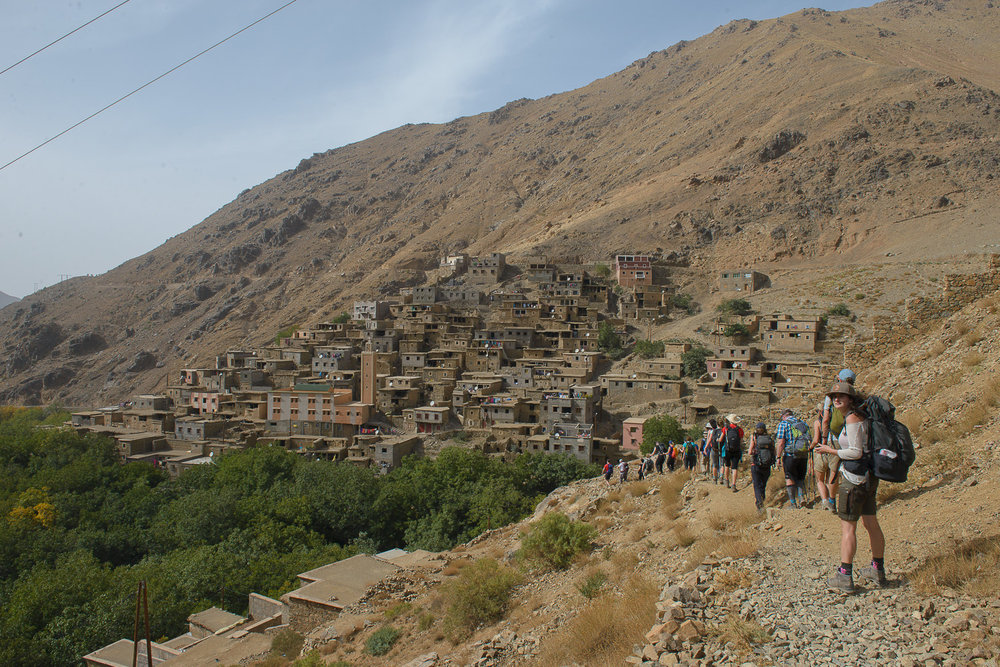 Small town of Ikkiss, Imlil