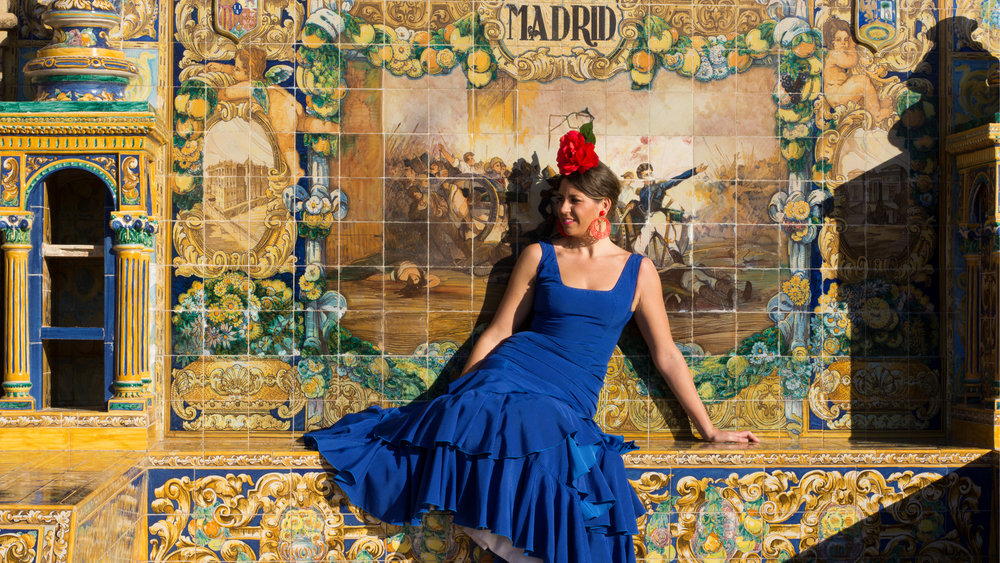 Typical Flamenco Dancer