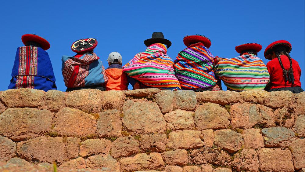 Traditional local Quechua dress
