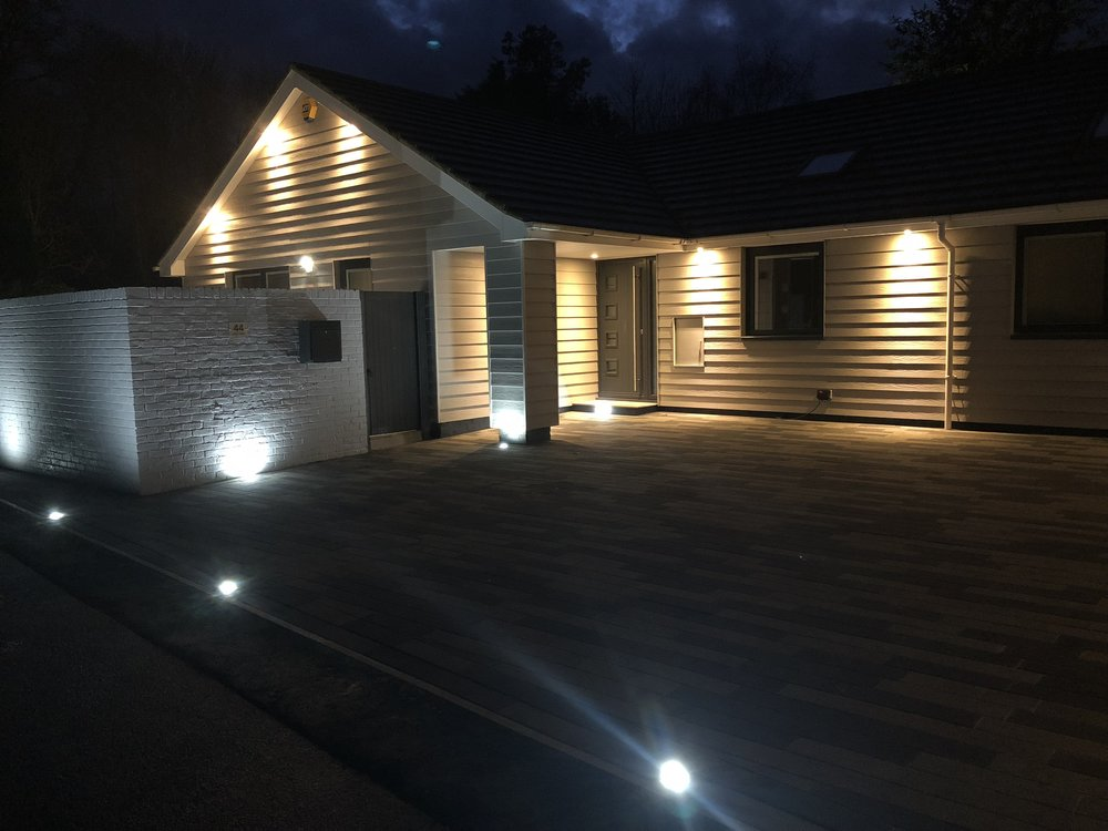 Driveway installed in Chichester using the Vecta Block paving