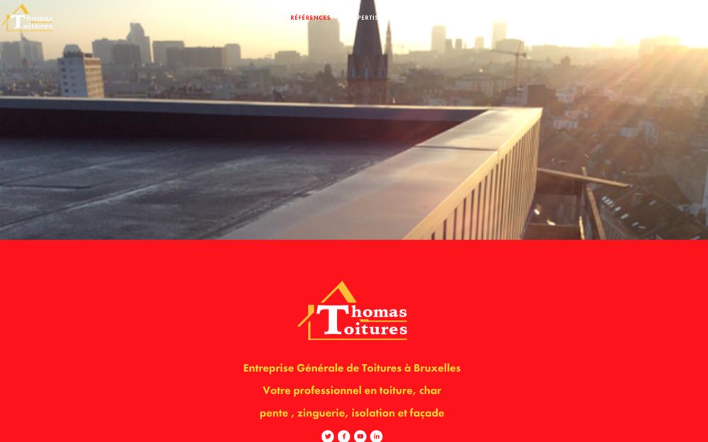 Thomas Toitures Toit Plat Building Bruxelles