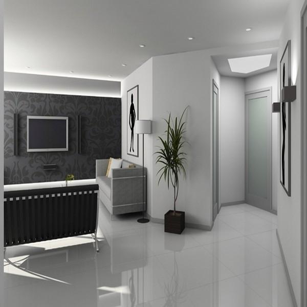 Carrelage Sol Blanc Brillant Solutions Pour La Decoration
